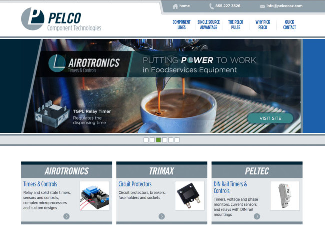 New Pelcocaz website goes live!