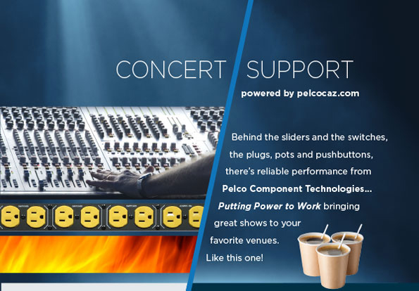 Pelco supports concerts at Nelson Odeon