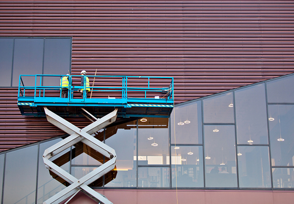 Scissor lift safety with Airotronics Current Sensor