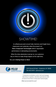 Click to see Pelco's Showtime! ad