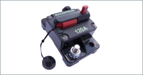 Trimax MX36A automotive circuit protectors high-amp circuit breaker