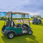 High end golf carts