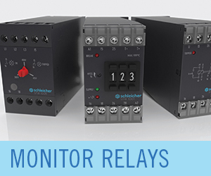 SchleicherUSA Measurement and Monitor Relays