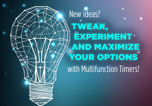Multifunction Timer: perfect choice for testing, development and prototyping