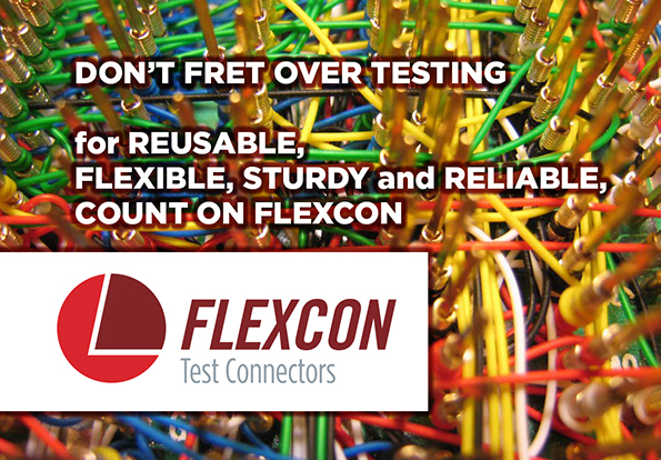 Choose Flexcon Flexible Test Connectors for electronic equipment, electrical installations, communications systems and more.