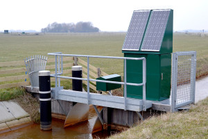 Drainage and irrigation pumping station