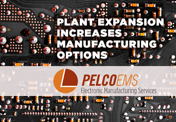 New electronic manufacturing services location doubles production space