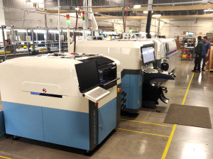 New Europlacer Advanced SMT line at PEMS