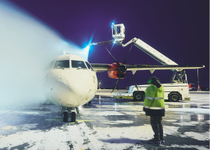 Deicing Heavy Equipment