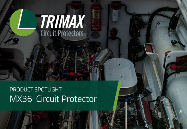 Product Spotlight: MX36 Series Manual Reset Circuit Protector